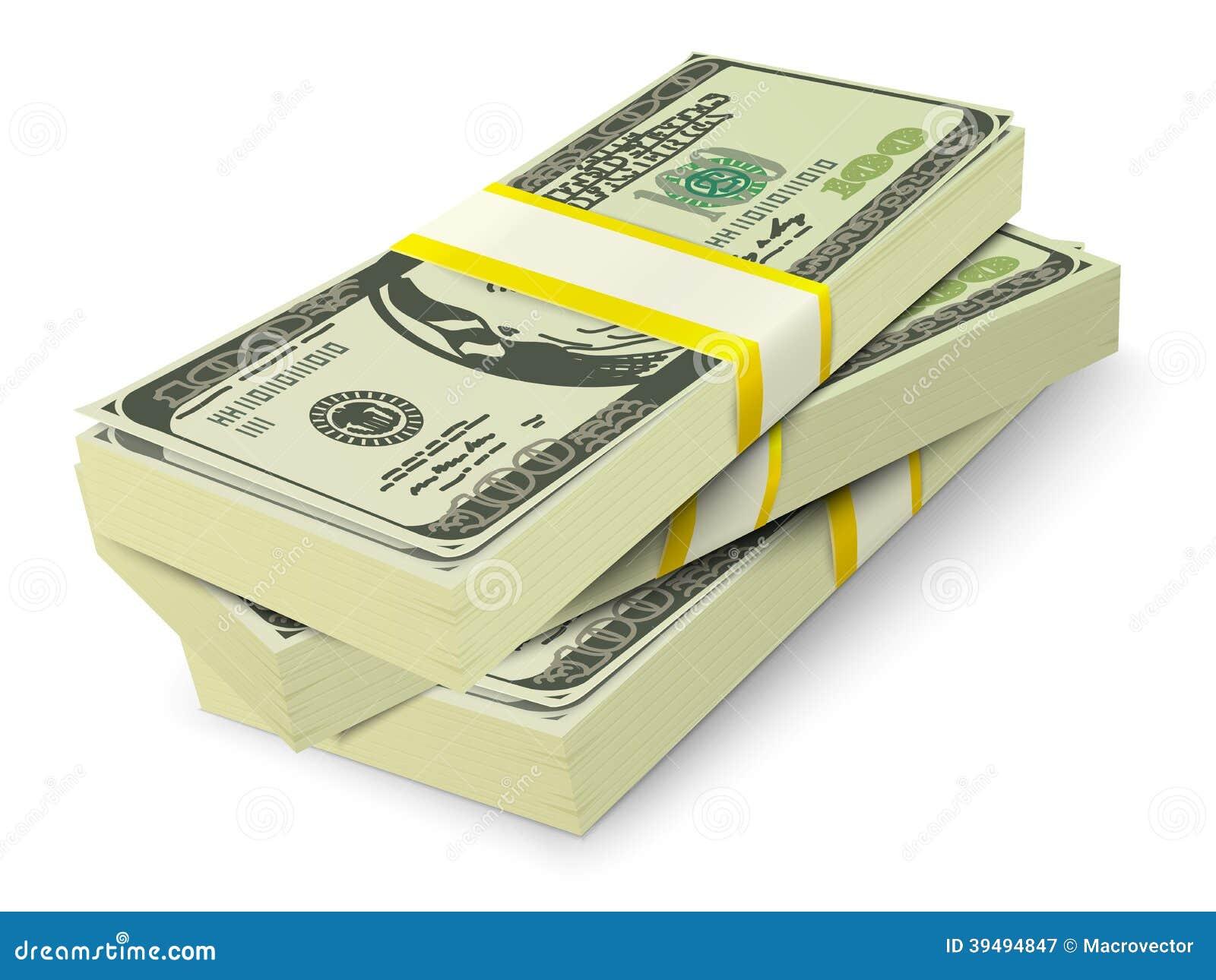 Money Stack Vector Money