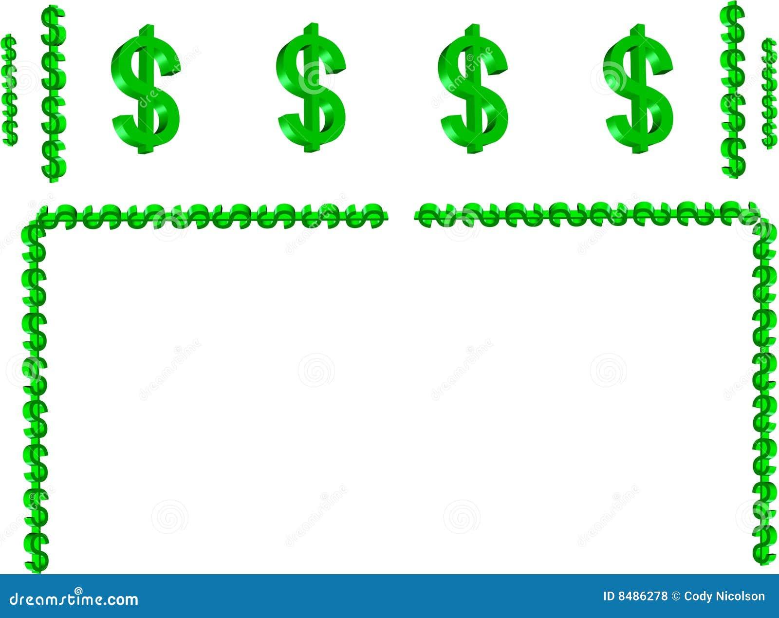 Money symbol border in 3d stock illustration illustration of money symbol border in 3d biocorpaavc Images