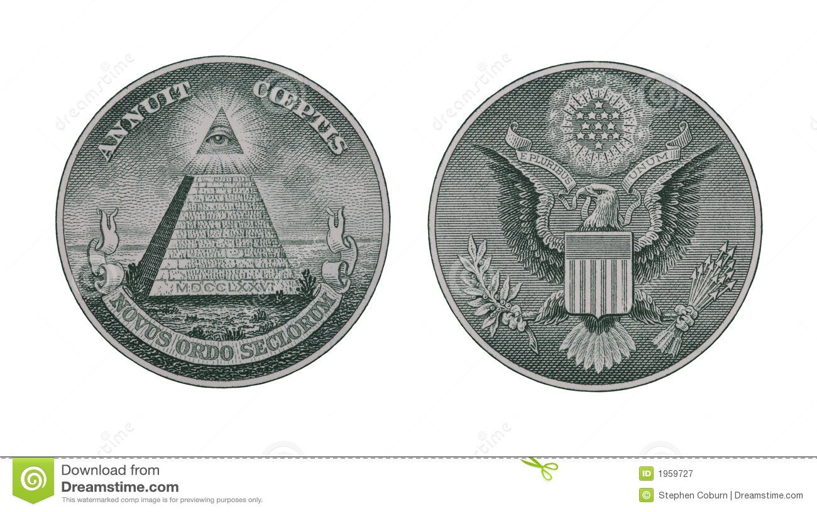 Money Symbols Stock Image Image Of Saving Finance Pyramid 1959727