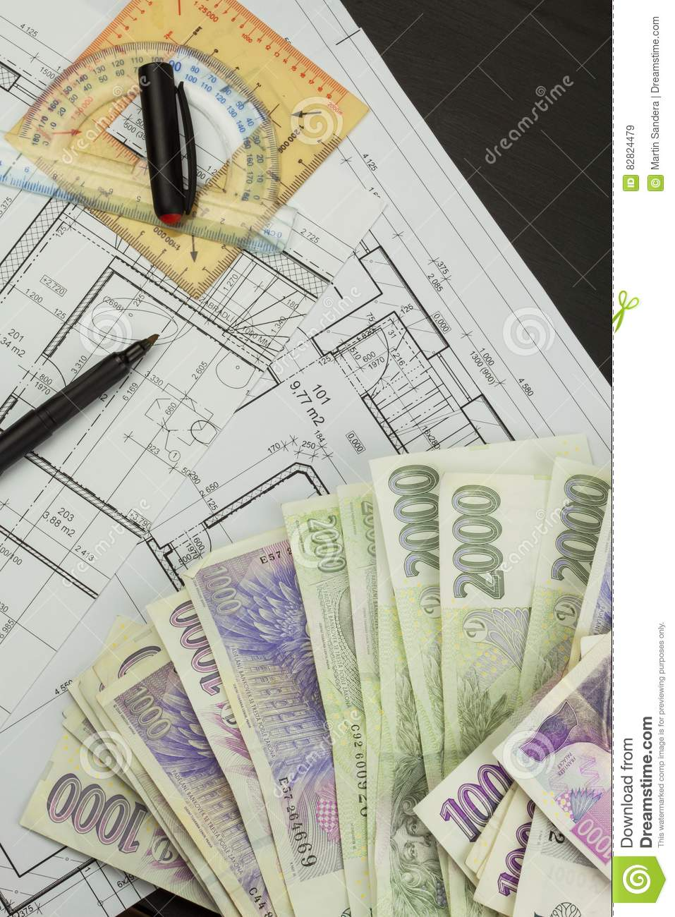 wonderful free money to build a house #3: Royalty-Free Stock Photo. Download Money To Build A House.