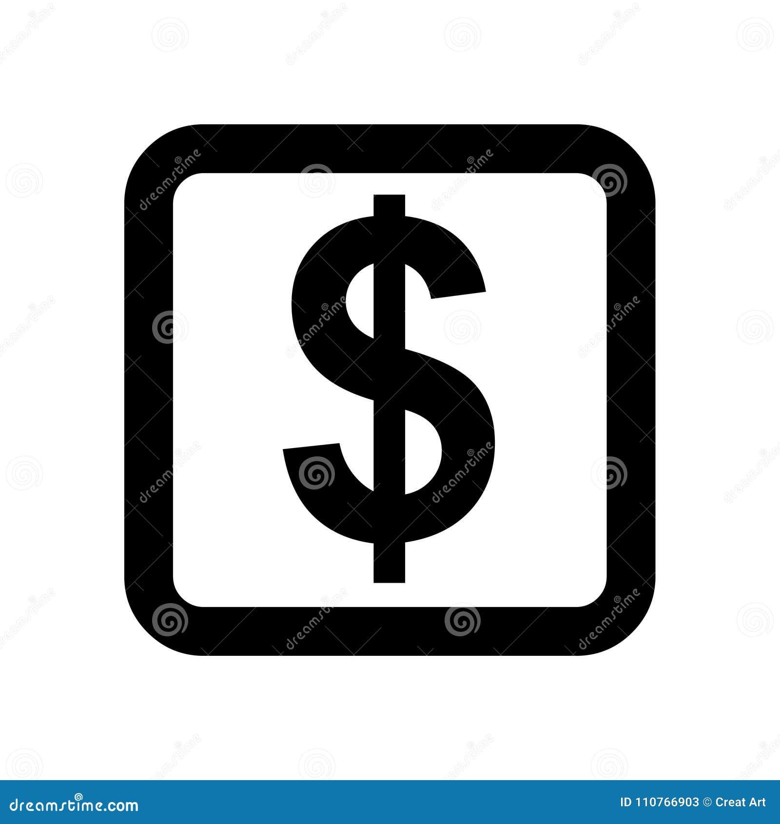 Money Vector Iconllar Symbol Vector Stock Vector Illustration