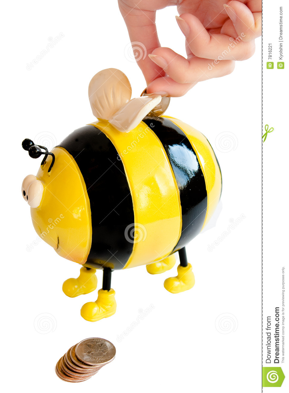 Moneybox d abeille