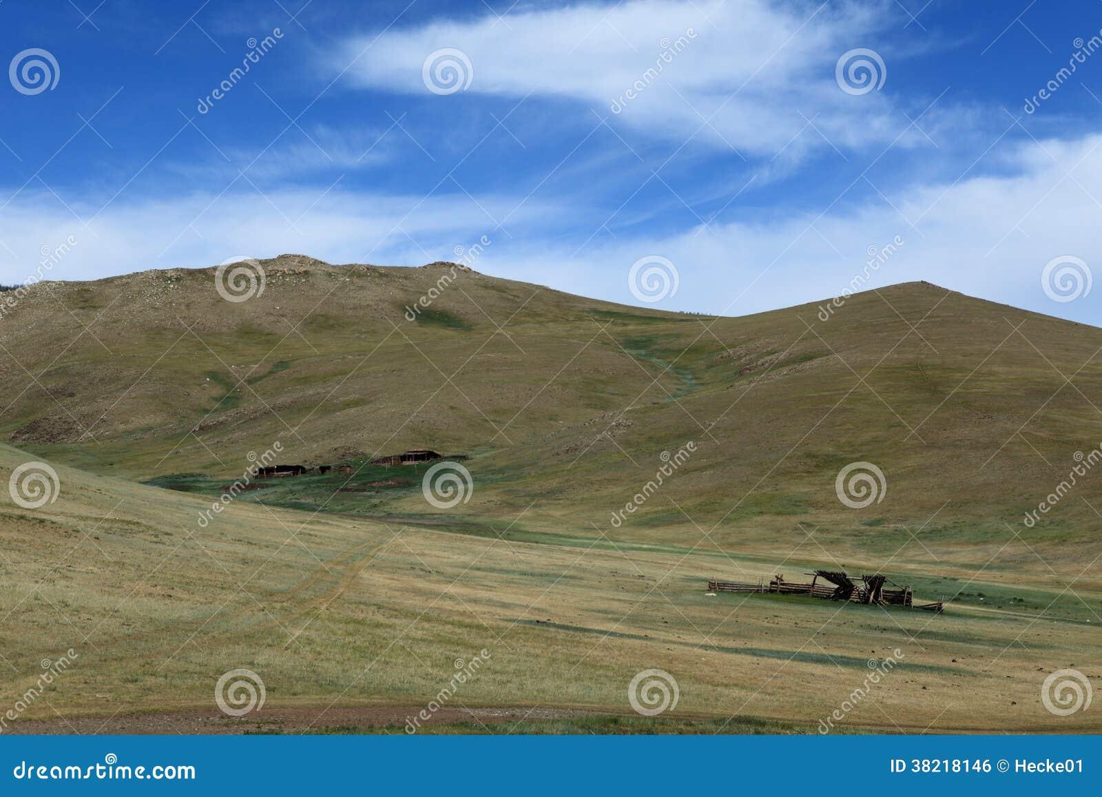 Mongoł natura i krajobraz