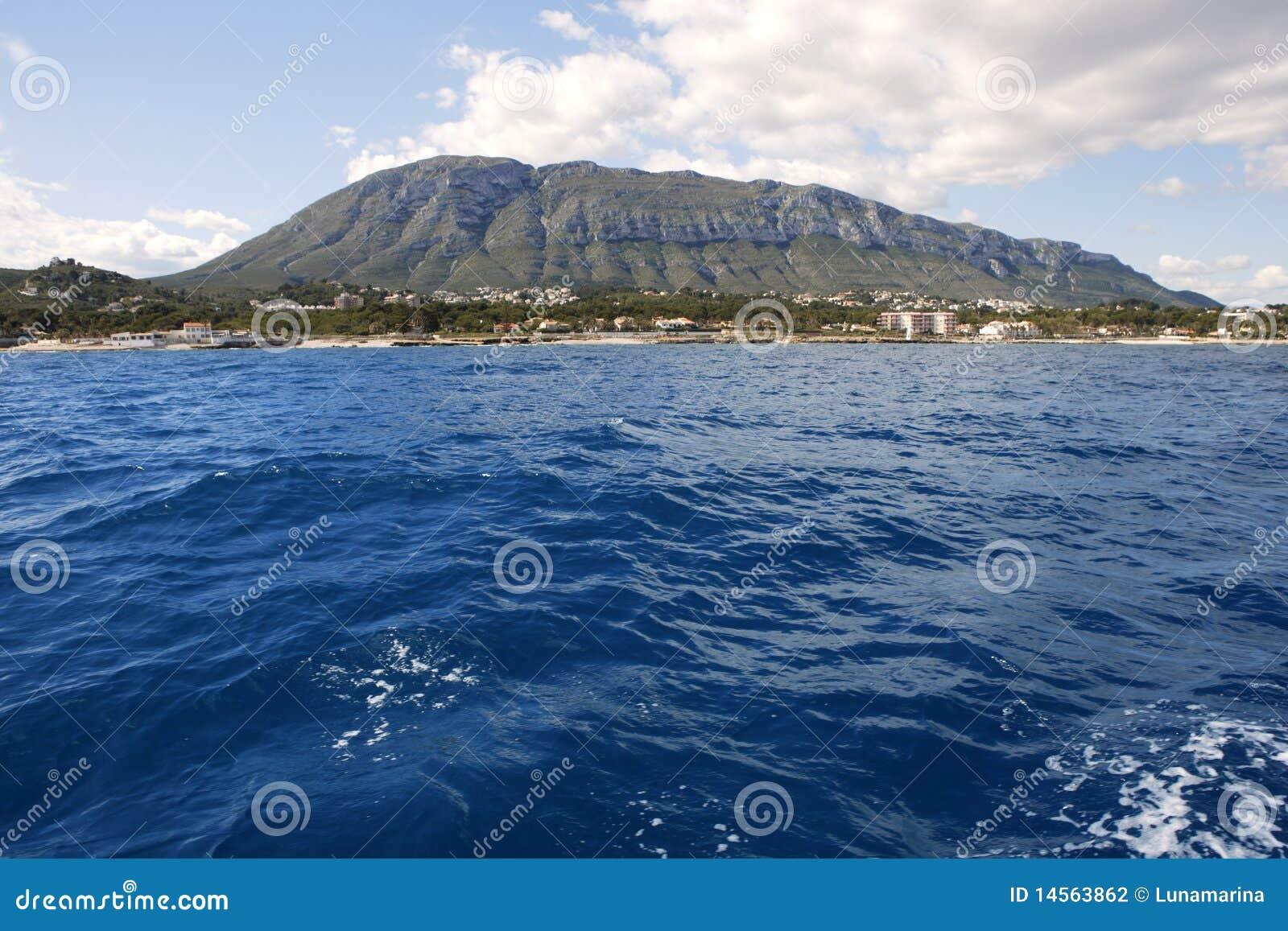 Mongo montgo Berg vom Meer Denia