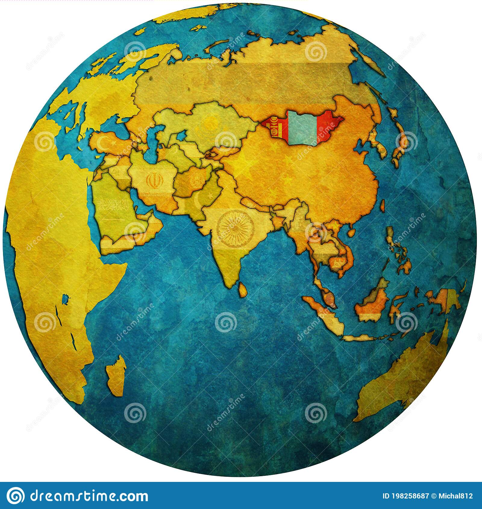 Picture of: 251 Mongolia Map Photos Free Royalty Free Stock Photos From Dreamstime