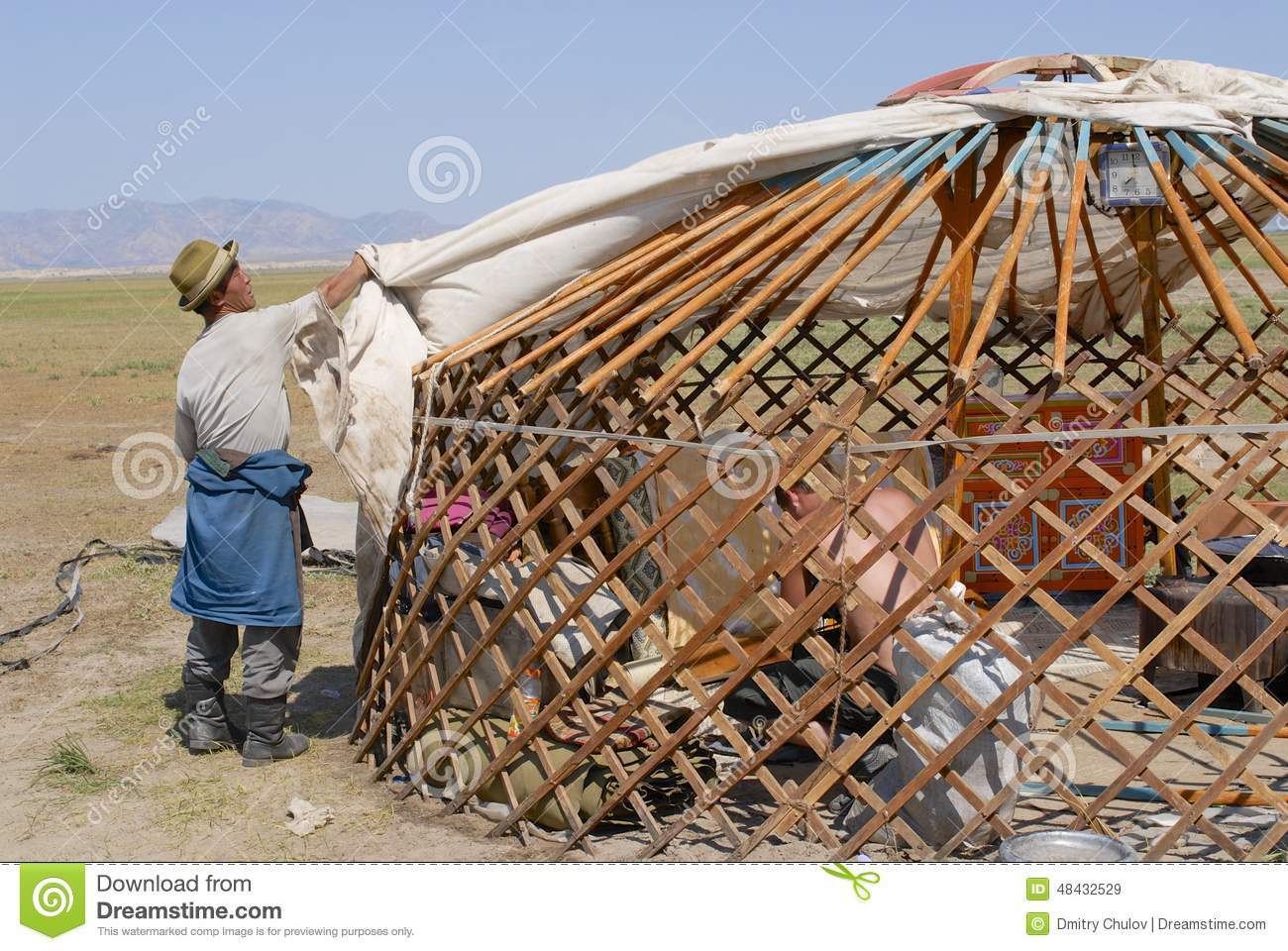 Editorial Stock Image Mongolian Men Assemble Yurt Steppe Circa Harhorin Mongolia August Unidentified Ger Nomadic Tent August Image48432529 additionally pole Barn besides 16 Naturally Charming Pavilions Pergolas moreover Watch furthermore Interiors. on pole frame house plans
