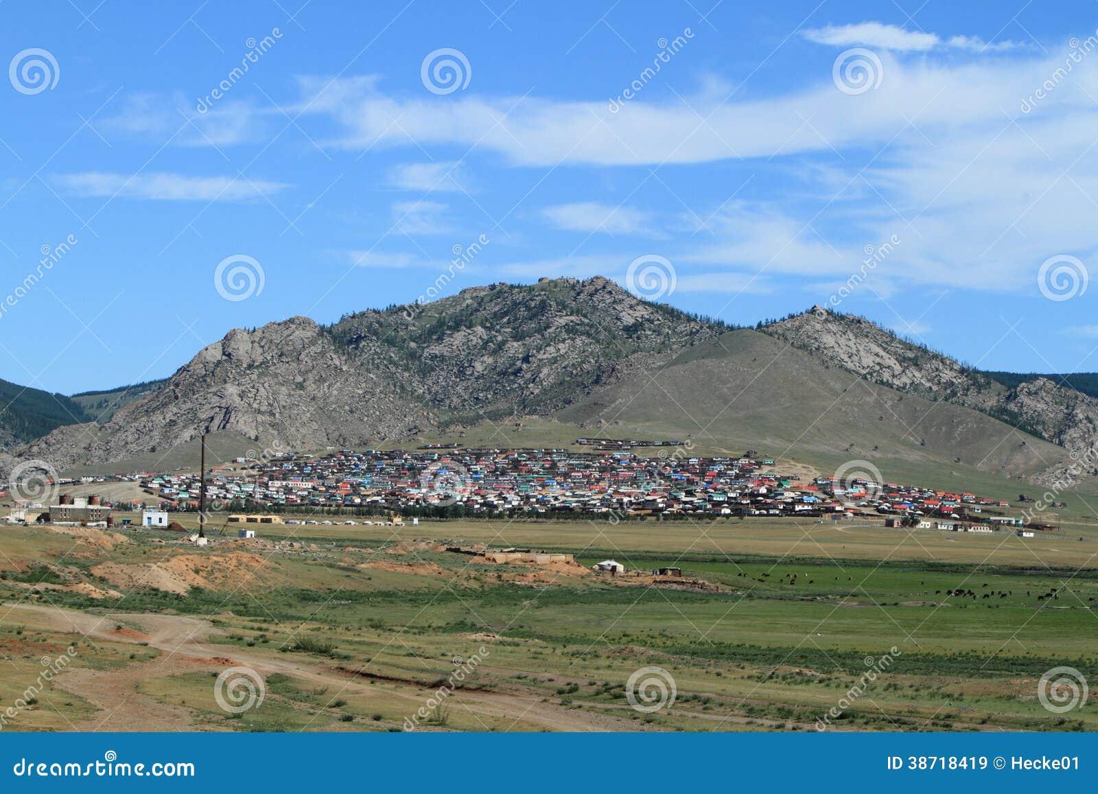 Mongolski miasto
