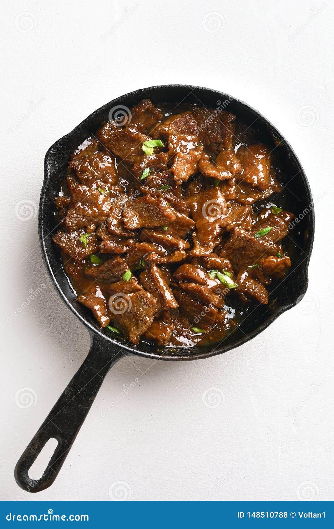 Mongools rundvlees, hoogste mening