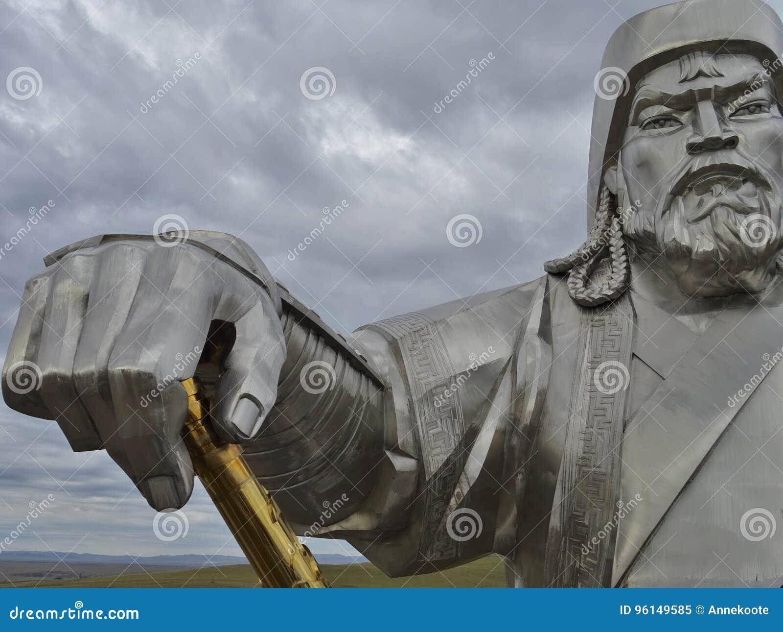 Mongools Strijdersstandbeeld