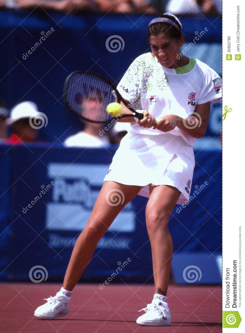 Monica Seles editorial image Image of professional love