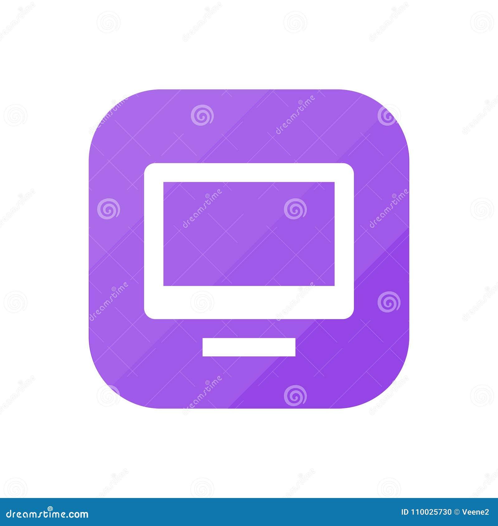 Monitor - App Pictogram