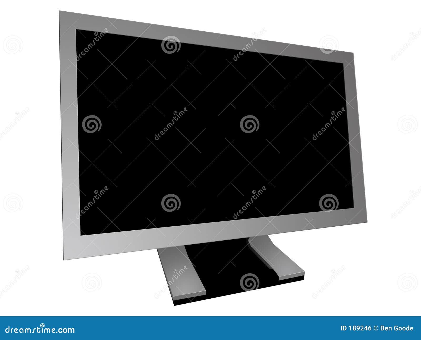 Monitor con pantalla grande
