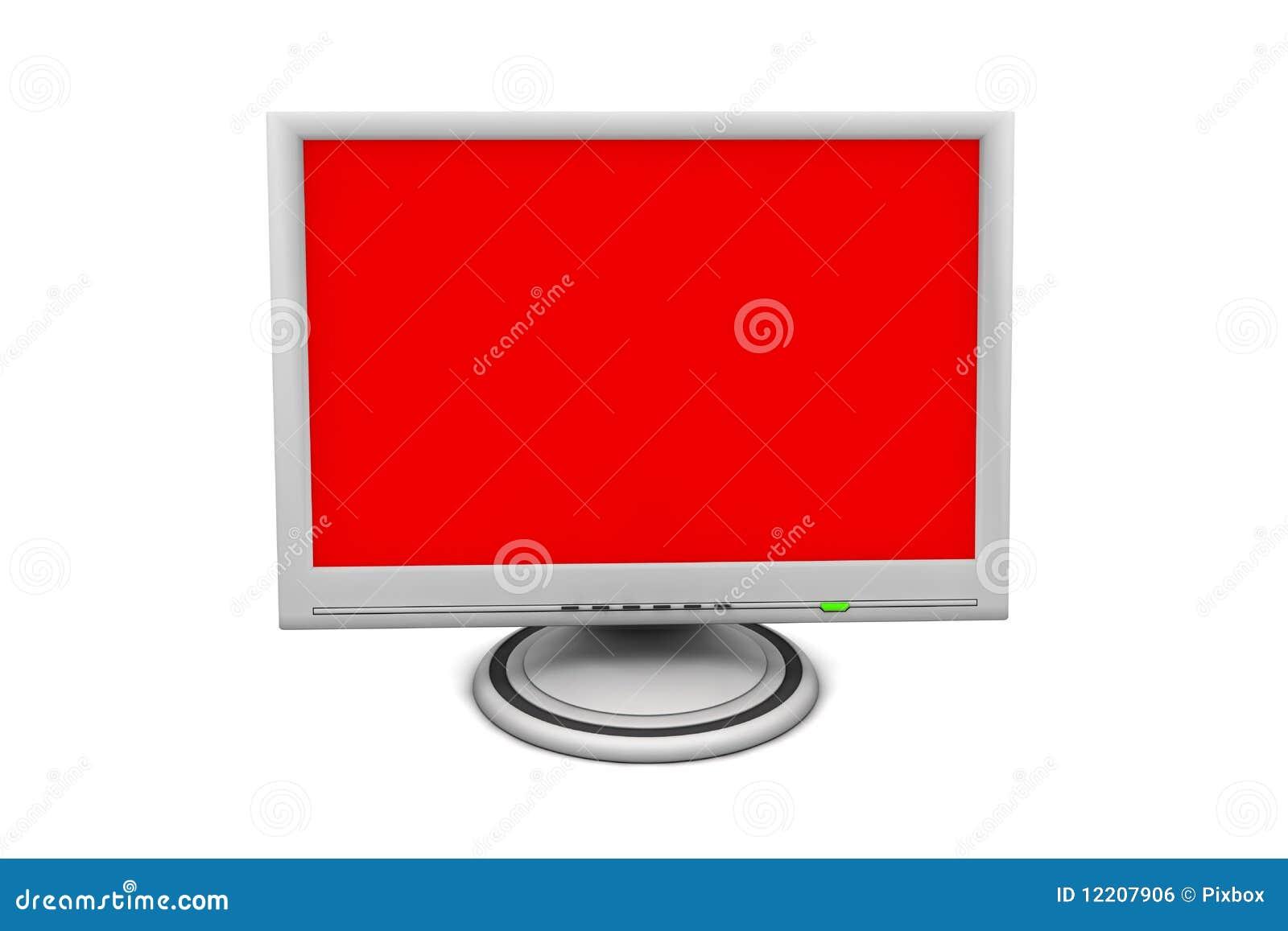 Monitor de la pantalla plana del LCD