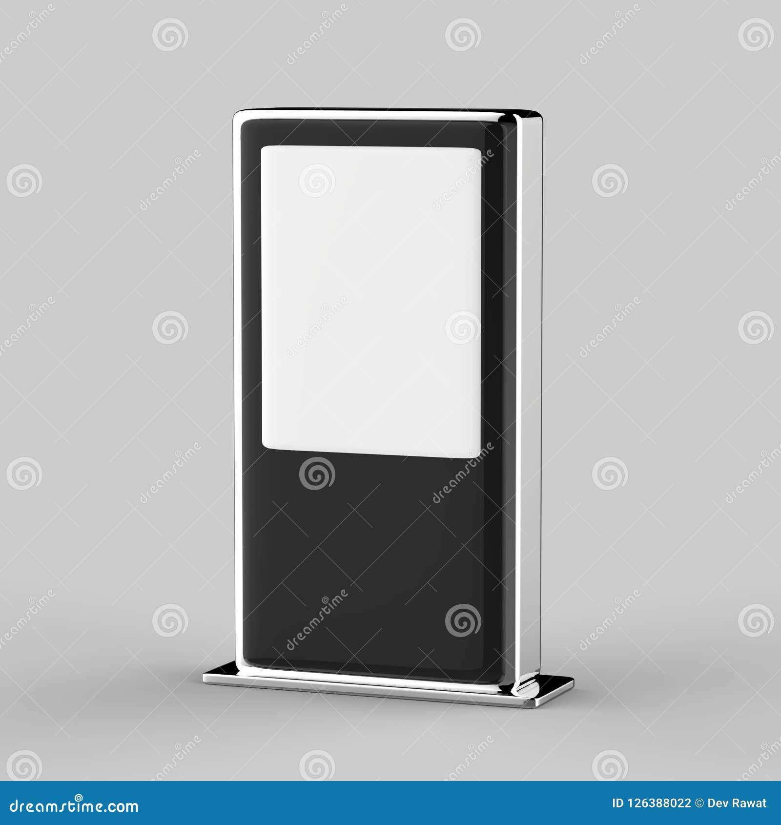 Monitor digitale di tocco dell esposizione del contrassegno della multi di tocco della rete di WiFi del pavimento esposizione LCD