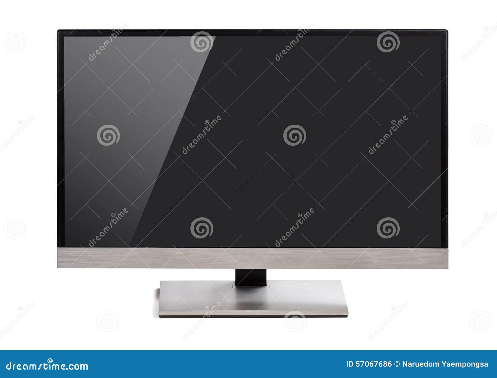 Monitor met het schermglans