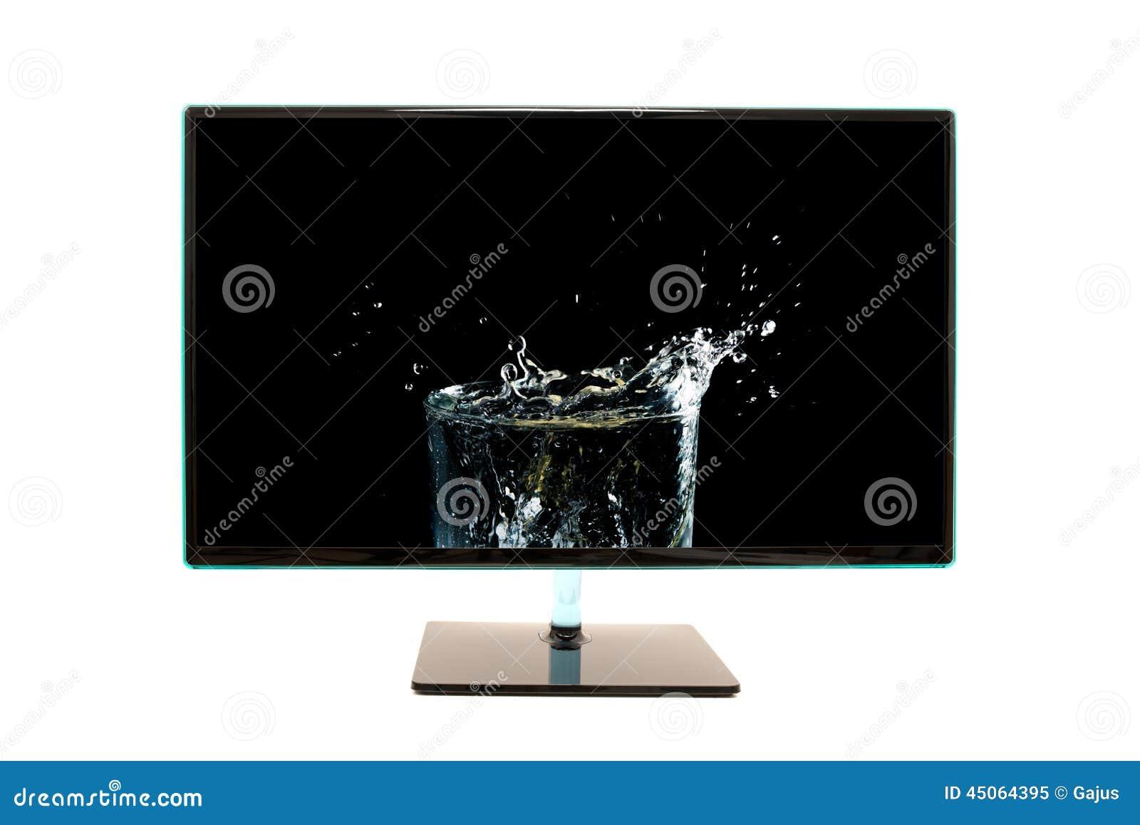Monitor moderno del computer di alta definizione for Desktop alta definizione