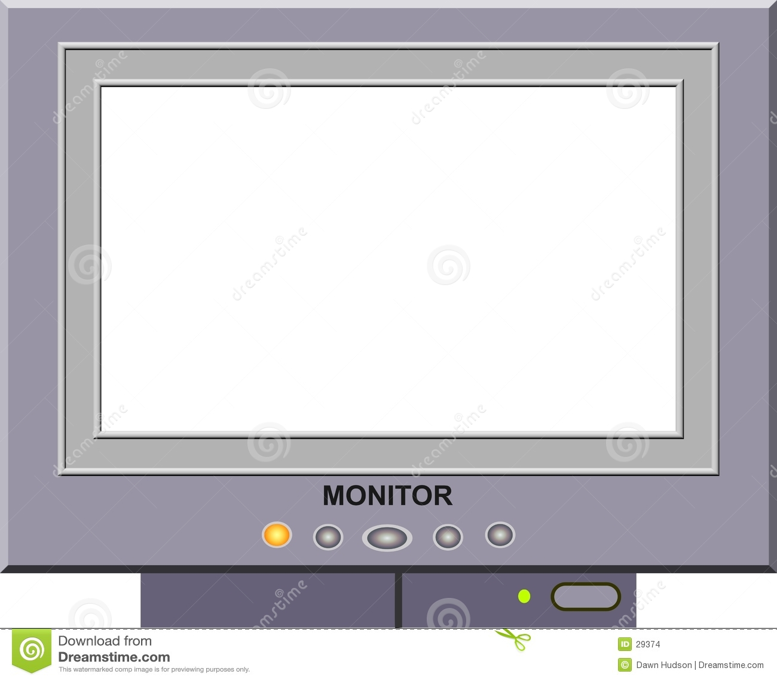 Monitor ramowy zdjęcie