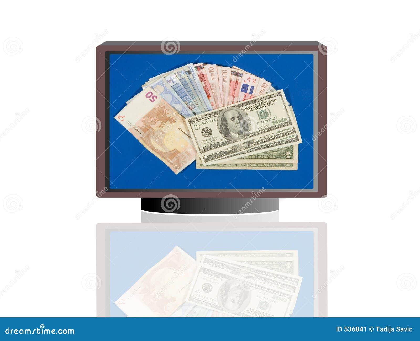 Monitores do dinheiro