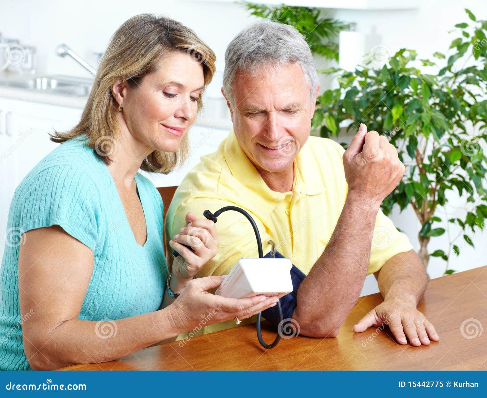 Monitorowanie krwionośny domowy nacisk