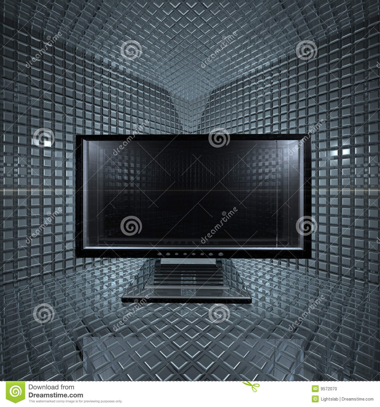 Monitors in grid room stock photo image 9572070 for Room grid
