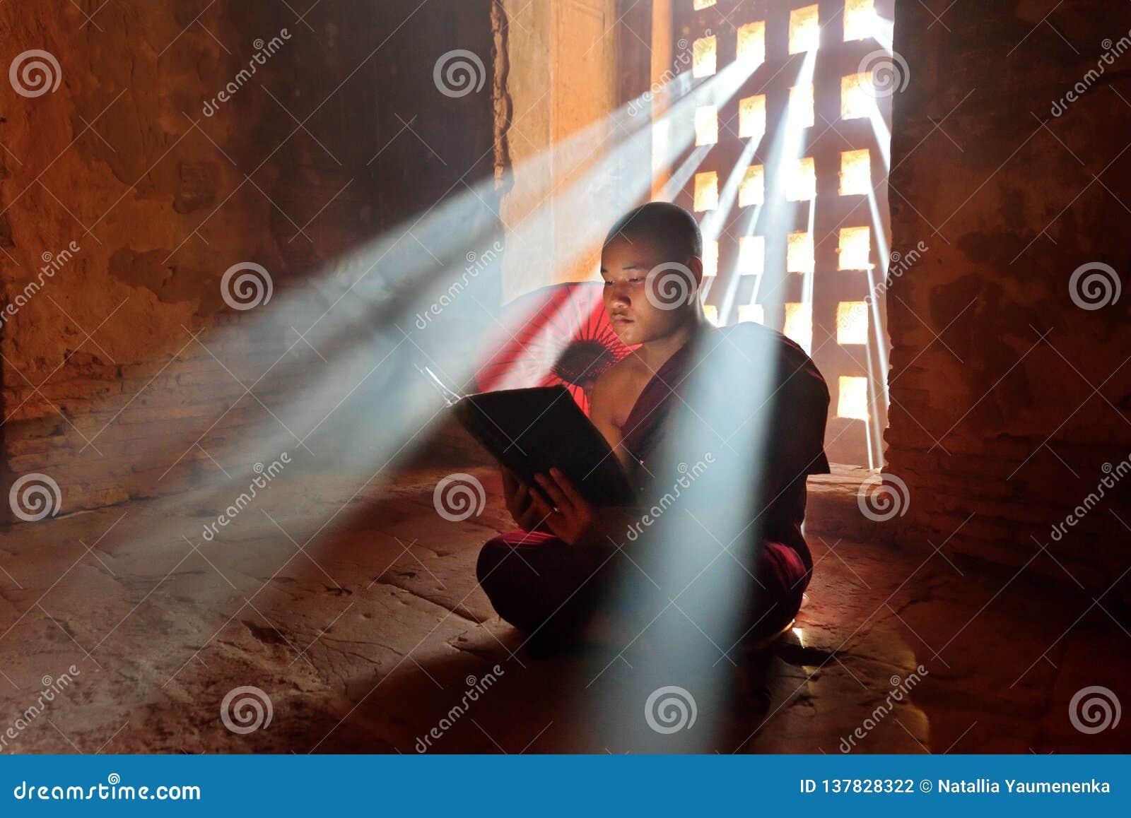 Monje budista joven