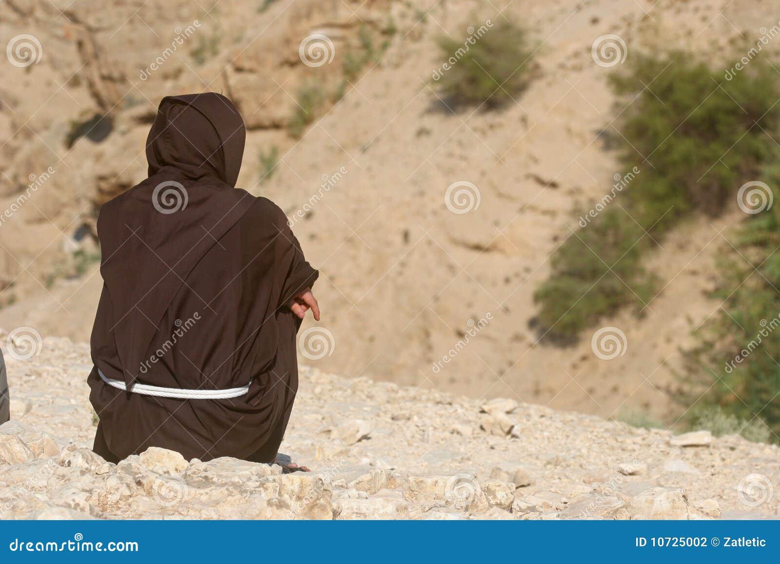 Monje, desierto de Judea