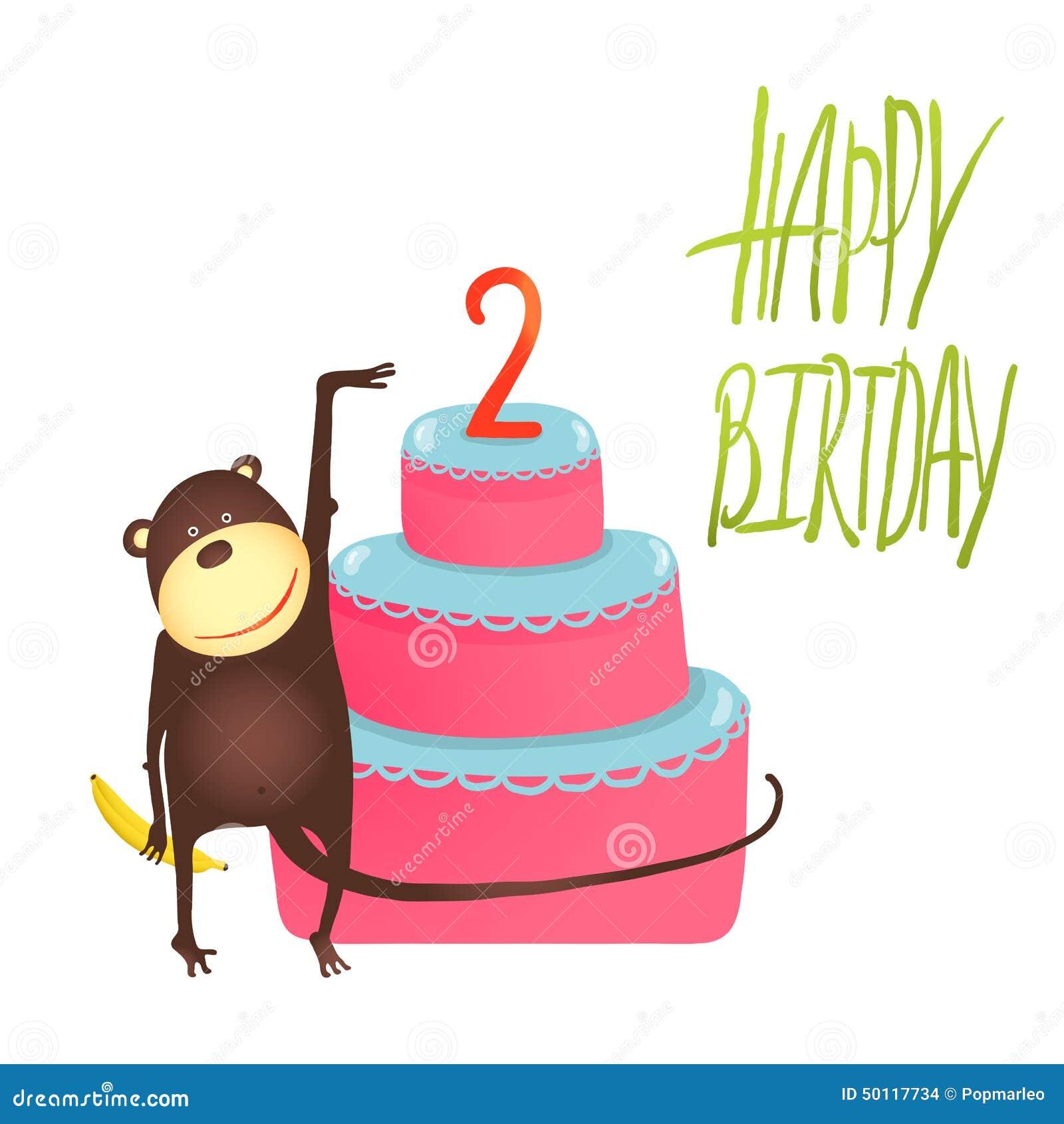 Birthday Cake  Years Old Vector
