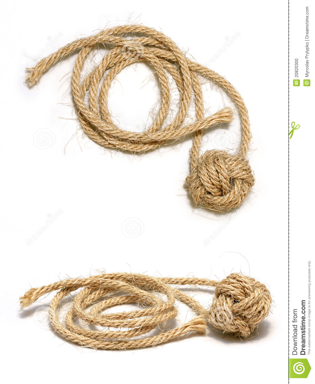 Remarkable, monkey fist on a rope really. All