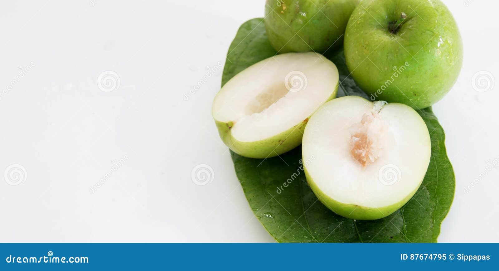 Monkey o fruto doce da maçã do doce de Tailândia como a maçã verde