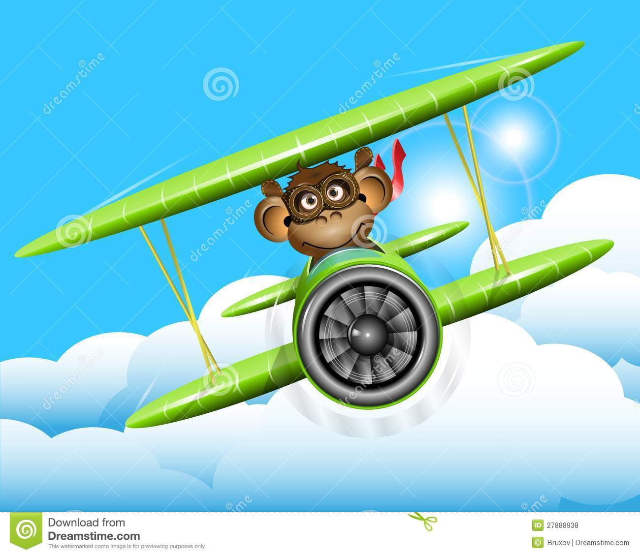 airplane kid video with Royalty Free Stock Photos Monkey Plane Image27888938 on Apple Crafts For Preschool also Dads look at the disney dream together with Images Transportsignalisation in addition Eagle Mask Template furthermore Watch.