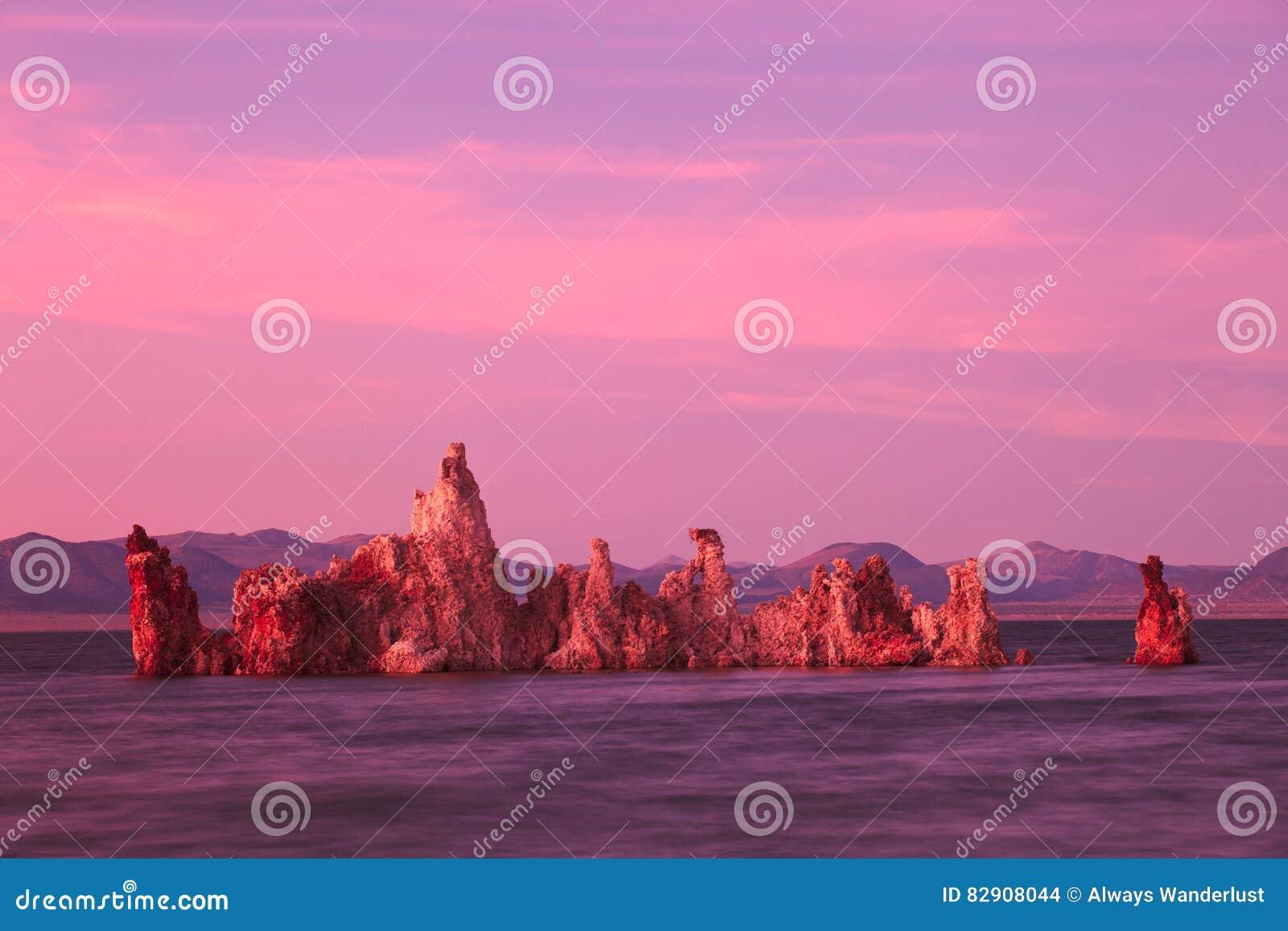 Mono lago California