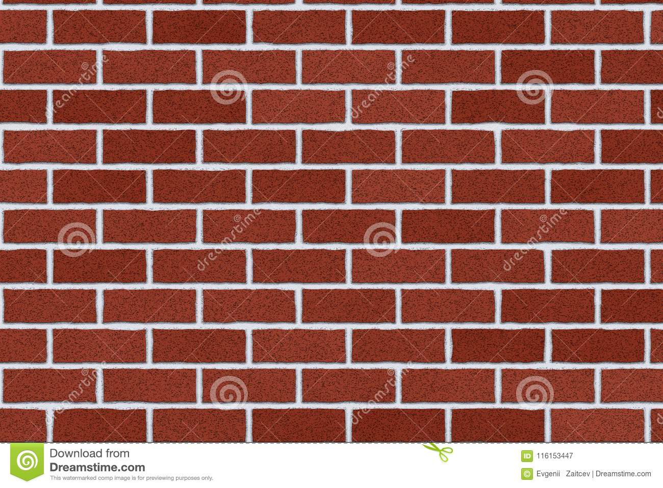 Monochrome Brown Brick Wall Abstract Background. Texture Of Bricks ...