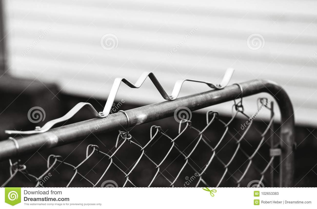 Picture of: Topping The Gate Stock Image Image Of Shallow Closeup 102653383
