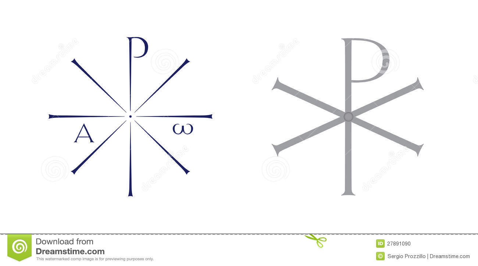 Monogram of christ symbol stock illustration illustration of monogram of christ symbol biocorpaavc