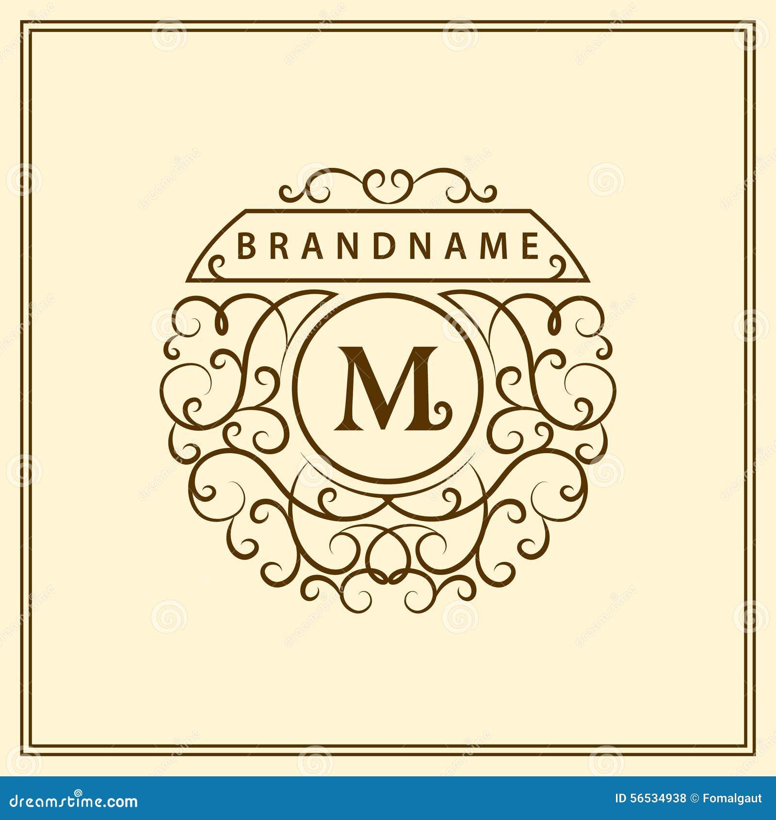 Emblem letter vrs home building cartoon vector for Monogram homes floor plans
