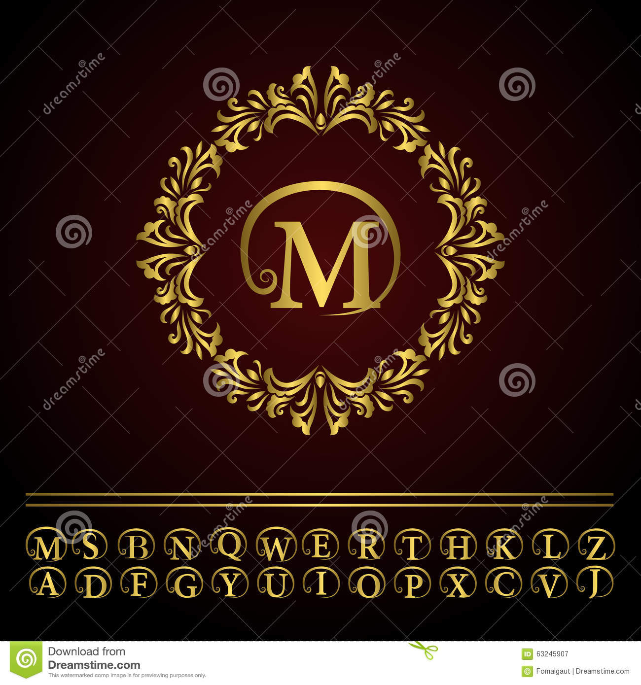 Old Time Letter Template on