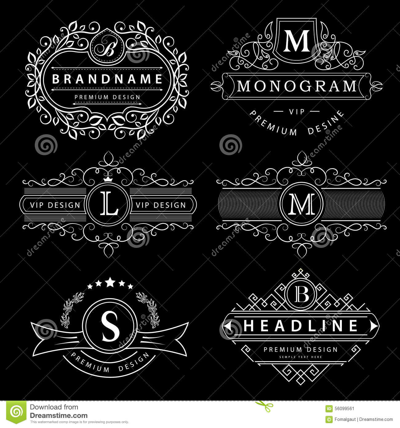 Monogram design elements graceful template elegant line art logo monogram design elements graceful template elegant line art logo design business sign identity for restaurant royalty boutiq illustration 56099561 friedricerecipe Choice Image