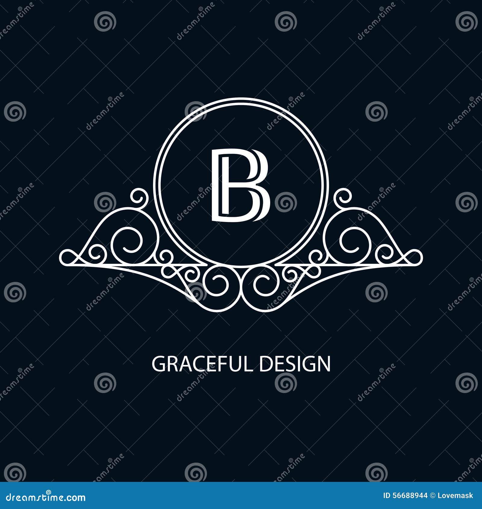 Monograma decorativo