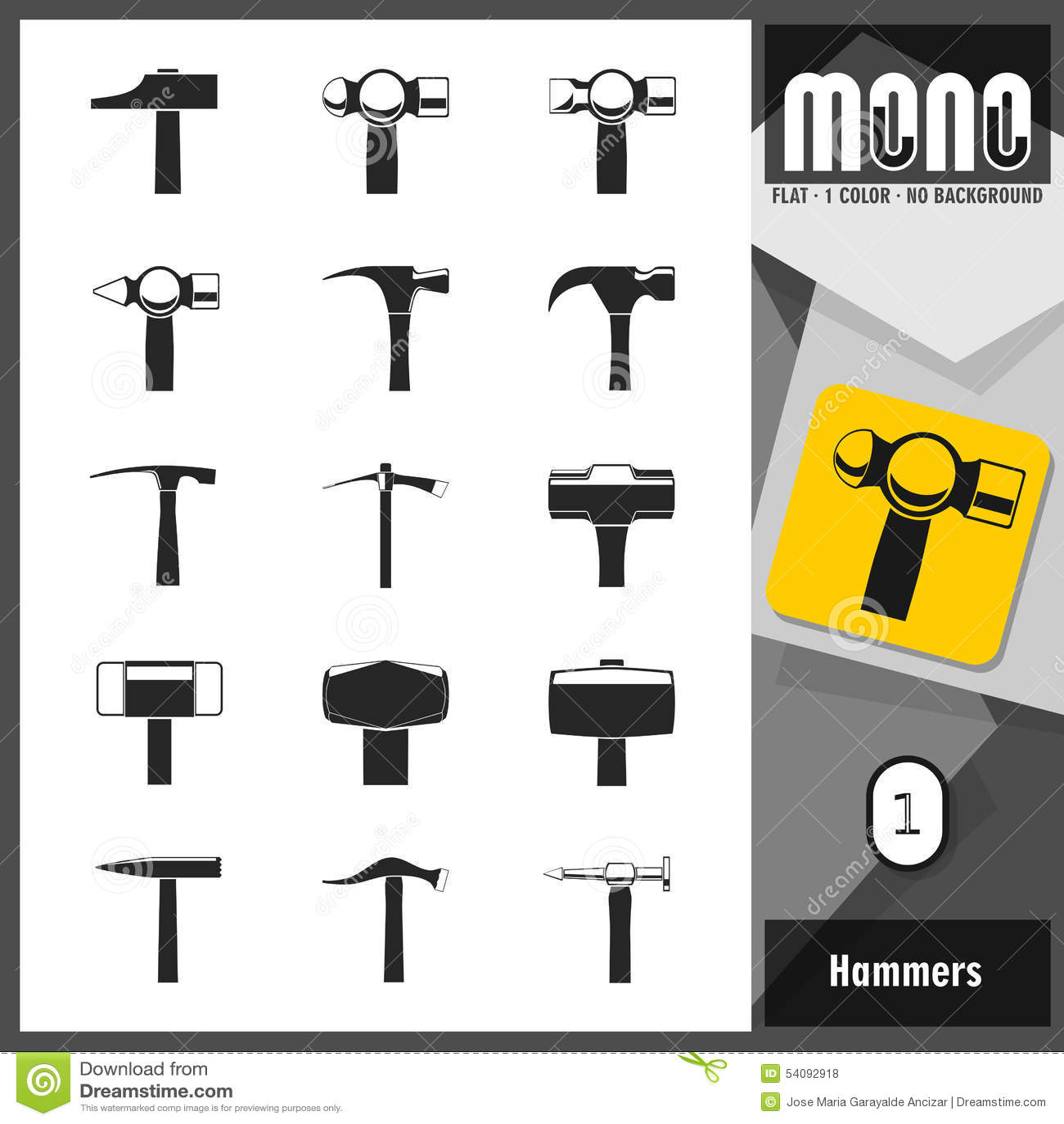 Monopictogrammen - Hamers 1