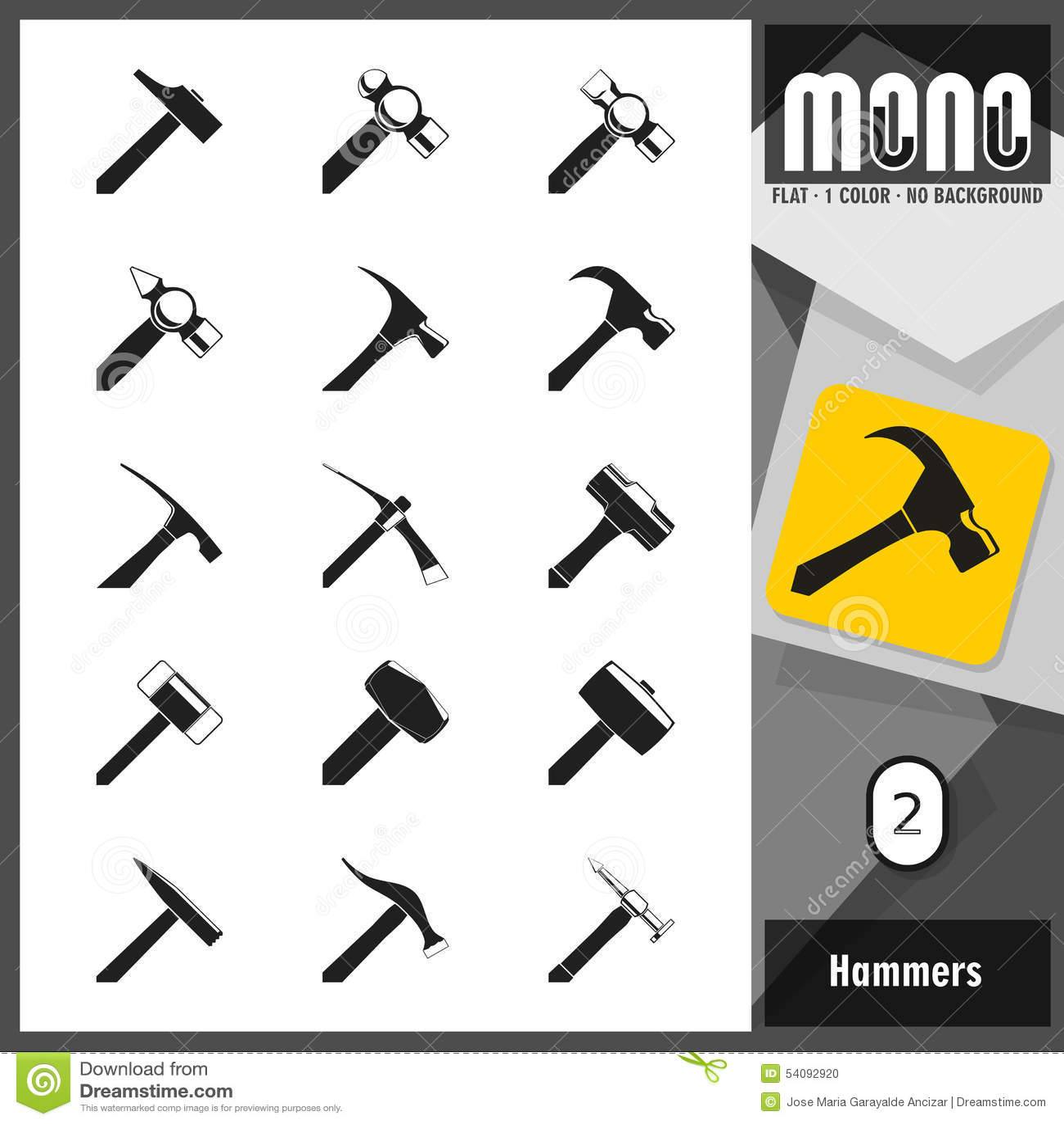 Monopictogrammen - Hamers 2