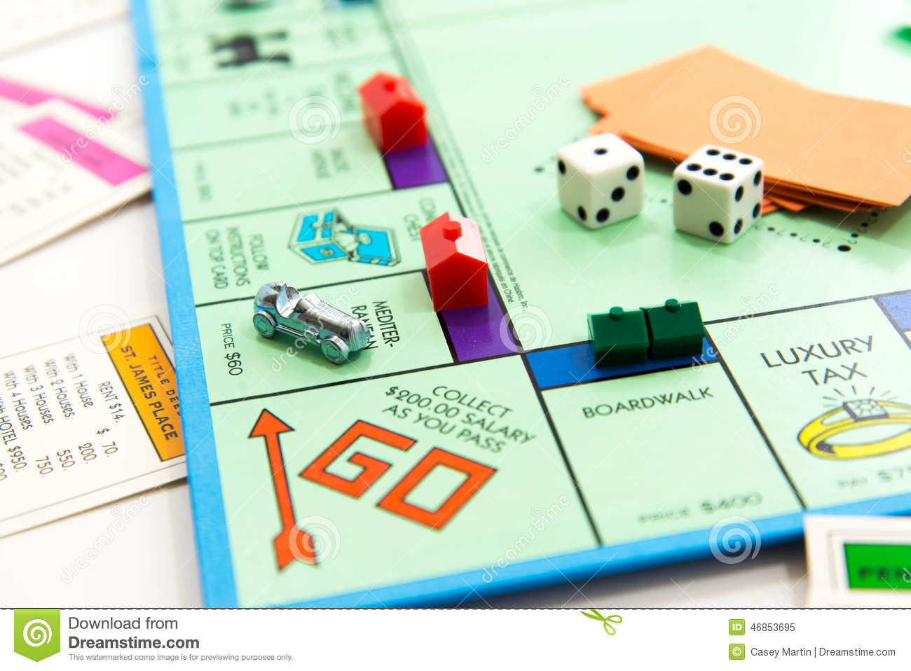Monopoly Game Design