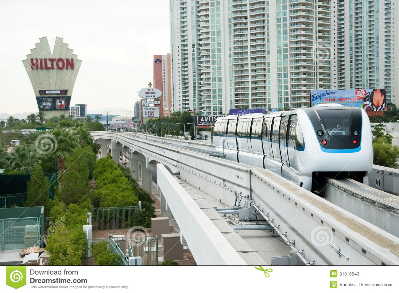 Everything. las monorail strip vegas about
