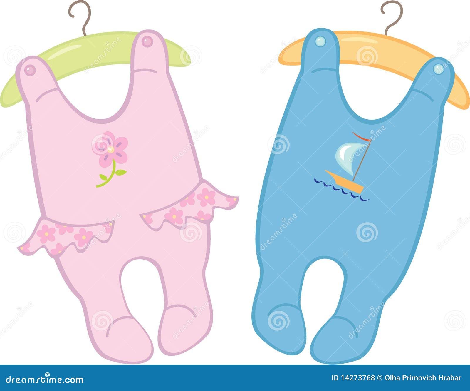 Monos para los gemelos de los bebés