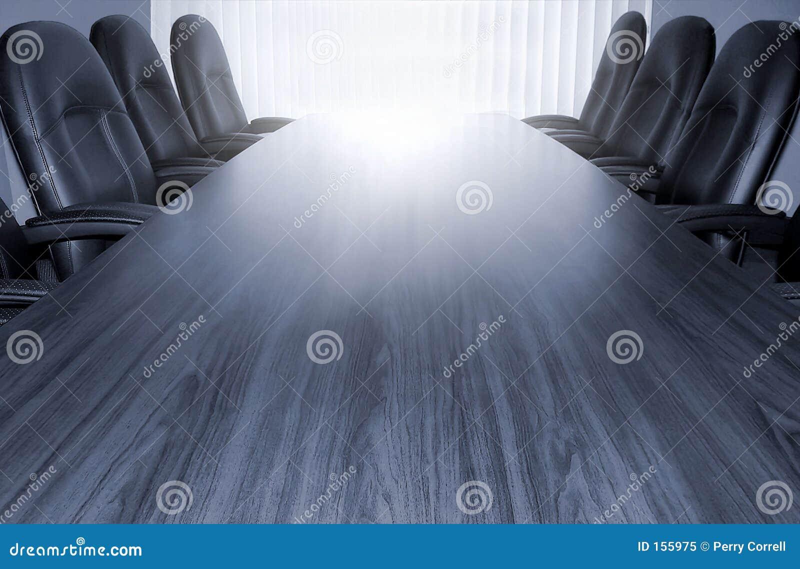 Monotone conference table