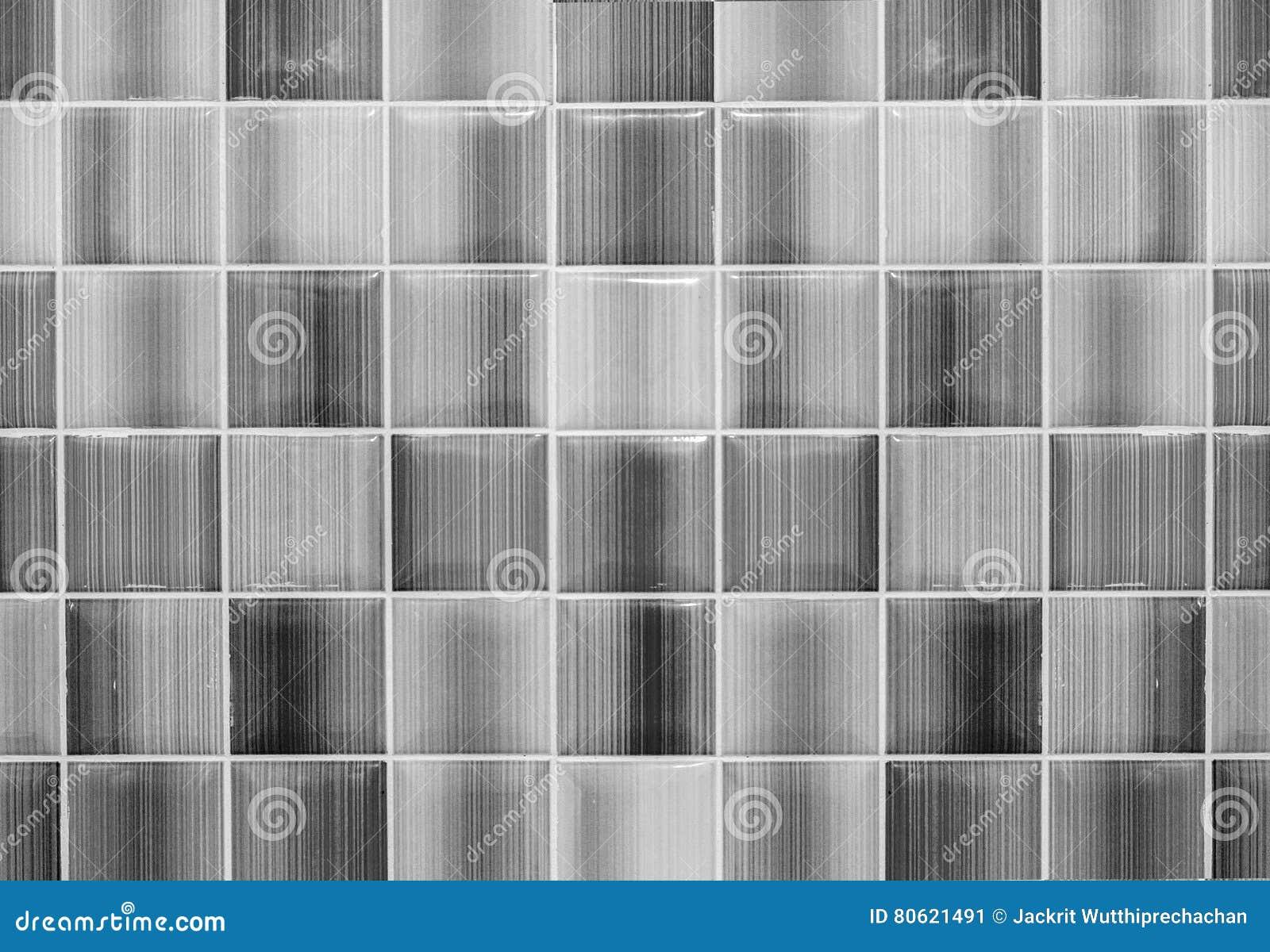 Download Monotoner Glänzender Bodenbelag Oder Wand Fliesen Glasschwarzweiss Hintergrund  Gemasert Für Moderne