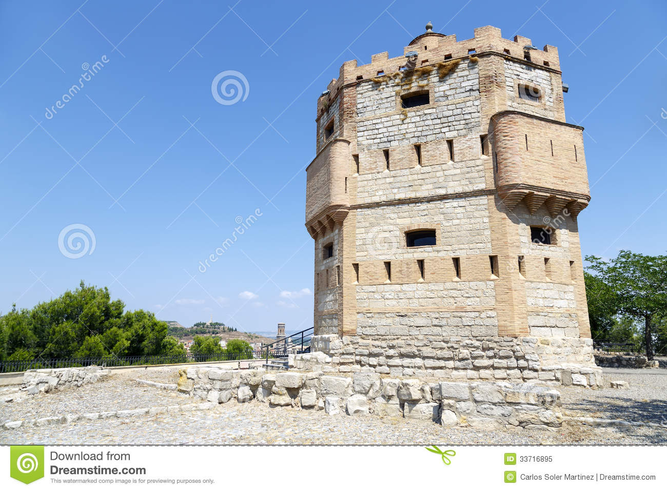 Tudela Spain  City new picture : ... in the thirteenth century on a watchtower southwest of Tudela, Spain