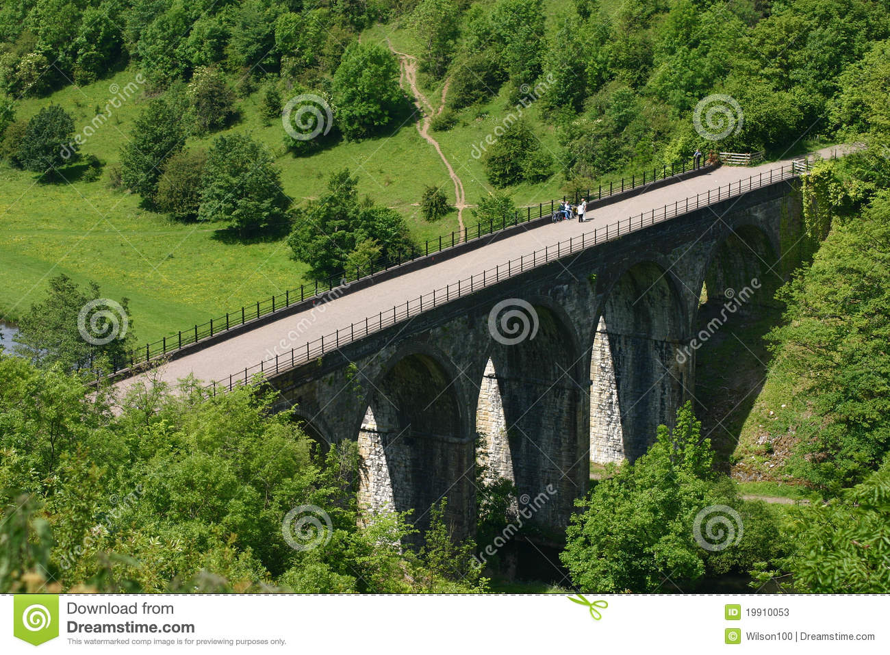 Monsal HauptViaduct, Derbyshire