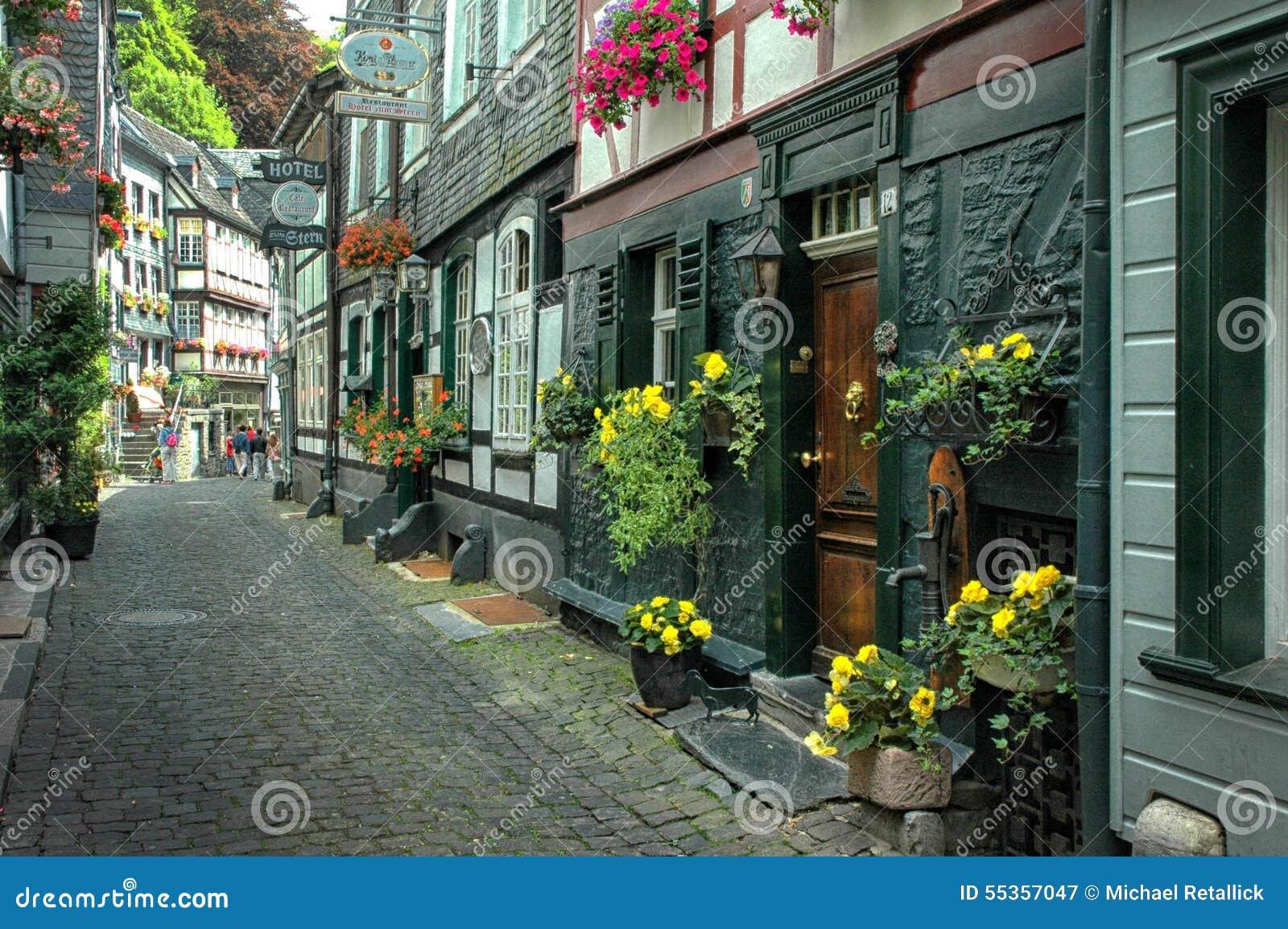 Monschau del centro, Germania
