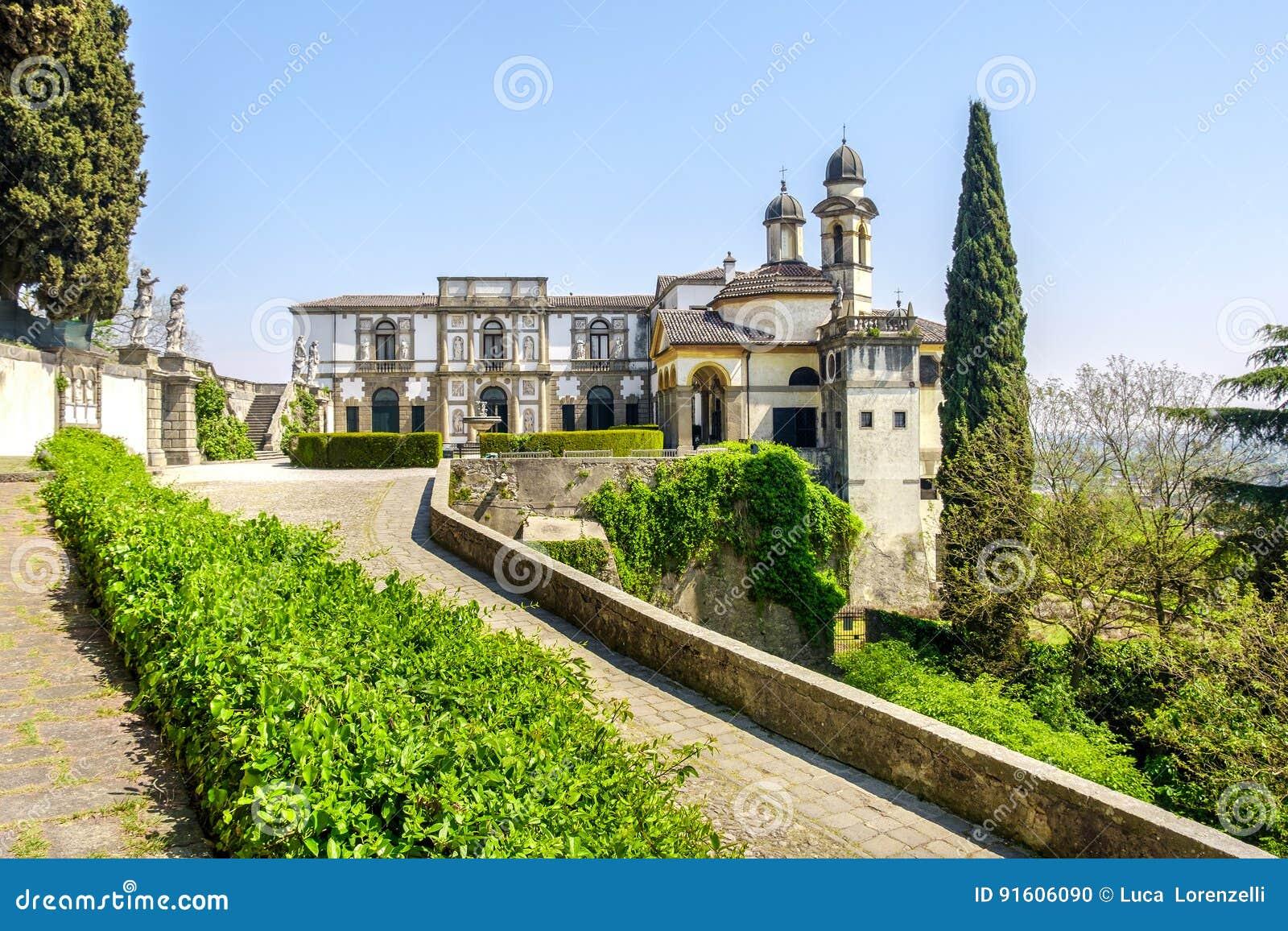 Monselice - área do euganei do colli - província de Padua - região de Vêneto