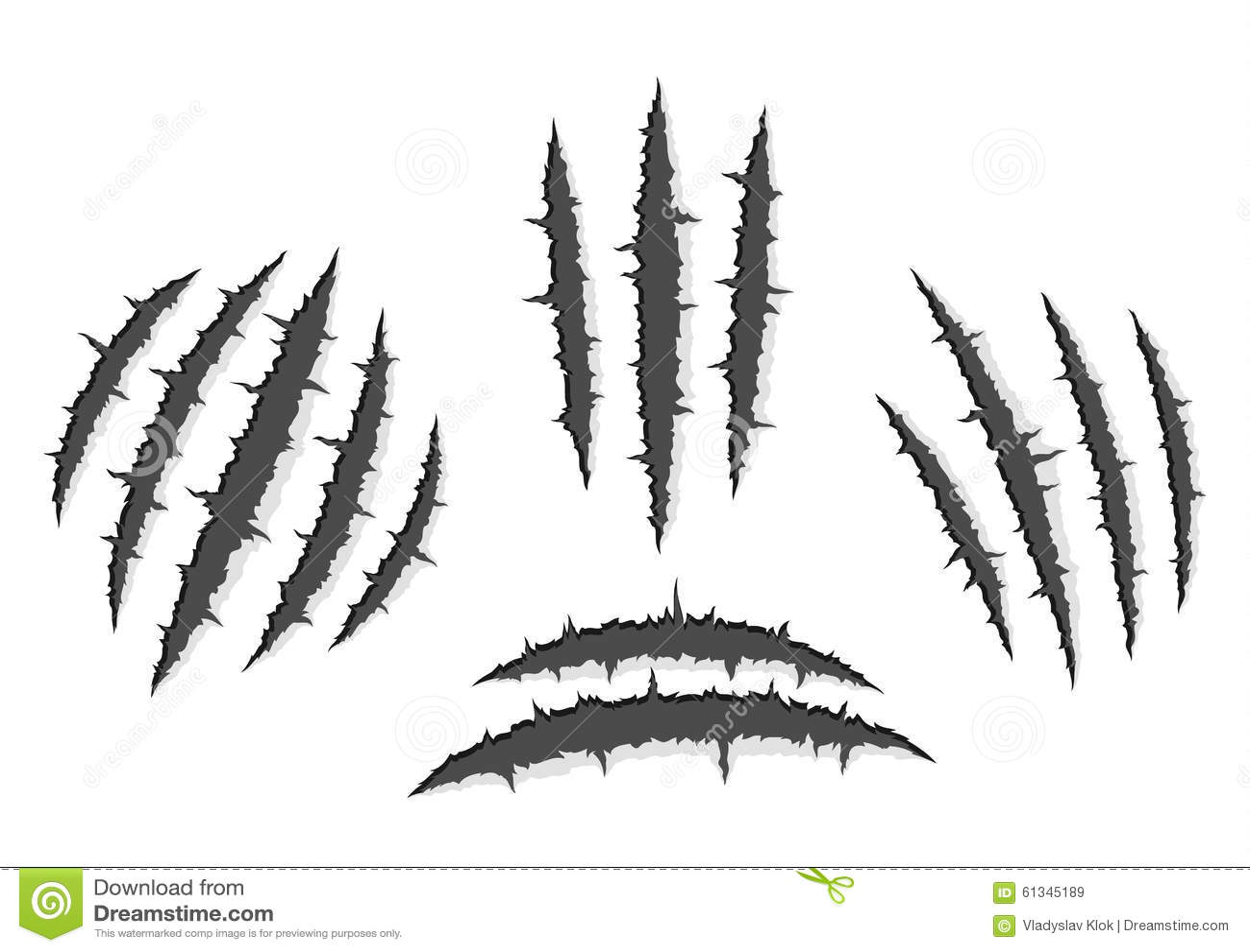 Werewolf claw marks - photo#34